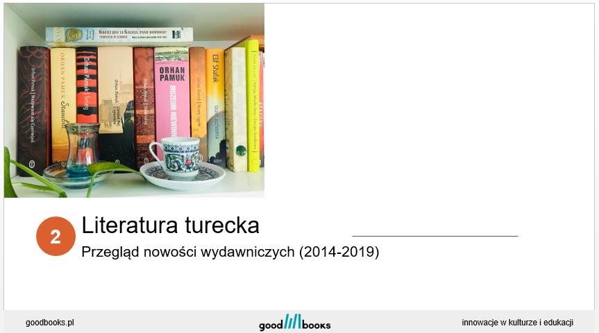 Literatura turecka - szkolenie
