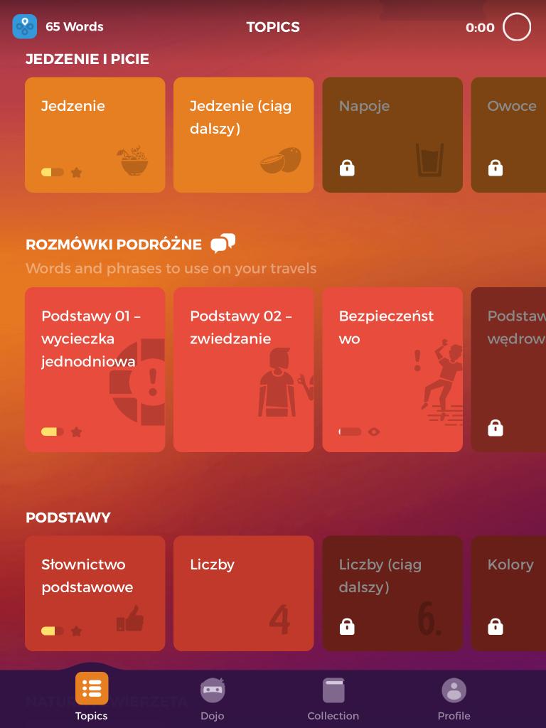 aplikacja do nauki tureckiego drops